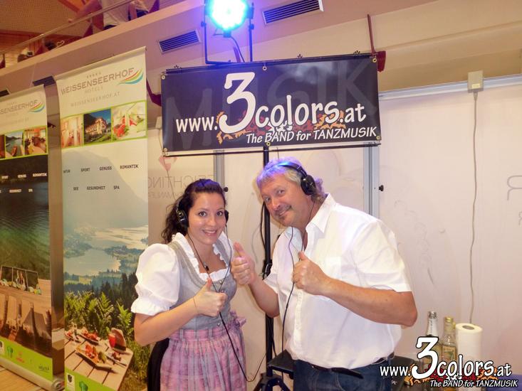 www.3colors.at - Die BAND für ihre HOCHZEIT | Hochzeitsmesse Leoben 2015