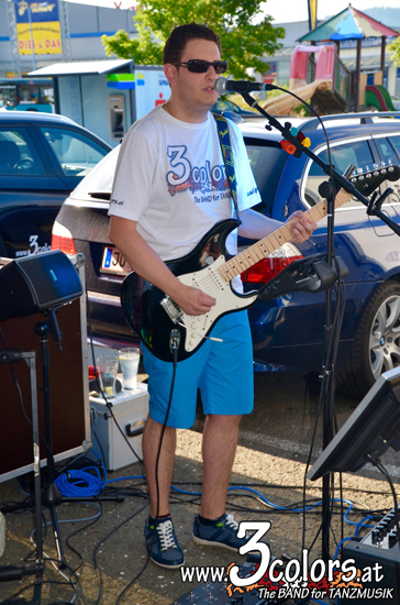 www.3colors.at - The BAND for TANZMUSIK | Sommerfest bei Susi's Schirmbar 2015