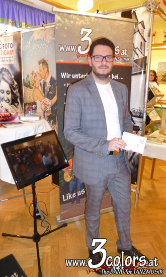 www.3colors.at - Die BAND für ihre HOCHZEIT   Mürztaler Hochzeitsmesse 2017