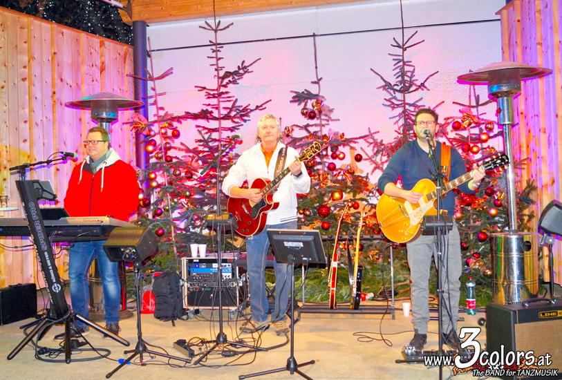 www.3colors.at - The BAND for TANZMUSIK   Weihnachtsmarkt Judenburg 2018