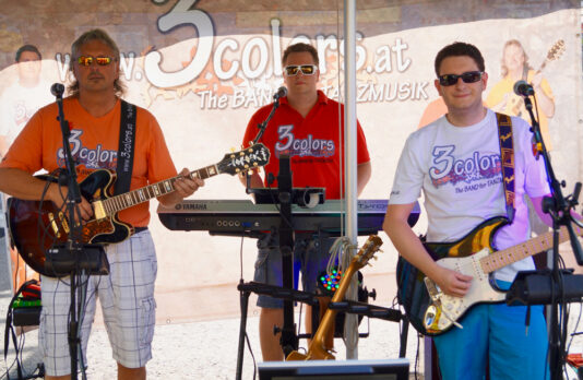 3colors - The BAND for TANZMUSIK - Eventbild