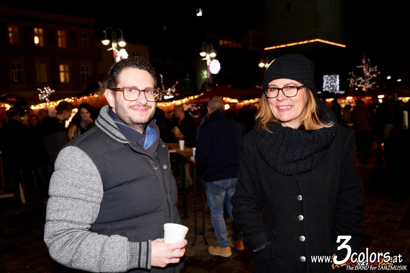 www.3colors.at - The BAND for TANZMUSIK | Weihnachtsmarkt Judenburg 2019